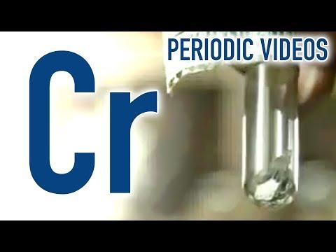Video image: Chromium - Periodic Table of Videos