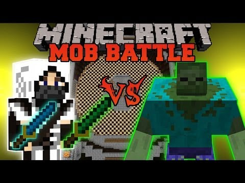 how to make a zombie boss in minecraft