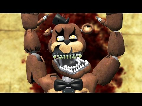 DEATH OF NIGHTMARE FREDDY! (Gmod FNAF Sandbox Funny Moments) Garry's Mod