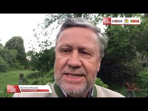 Consejero Regional de La Araucanía,  Gustavo Kausel saluda a CGNA  en sus 10 años