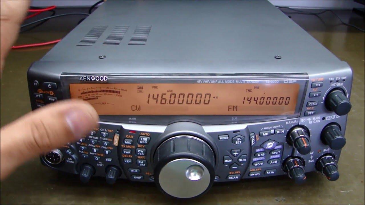 ALPHA TELECOM: KENWOOD TS-2000 SEM POTÊNCIA DE TRANSMISSÃO EM VHF
