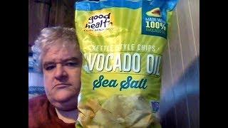 Good Health Avocado Oil Sea Salt Kettle Cooked Potato Chips