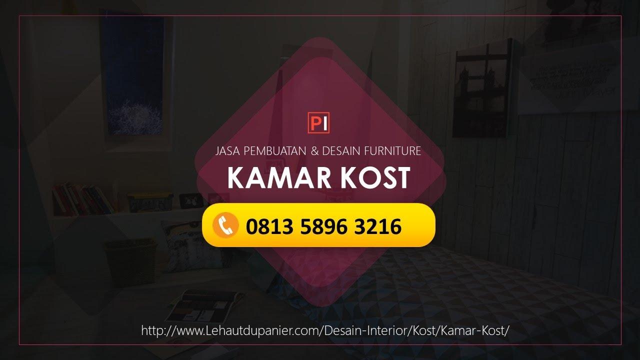 jasa desain interior kamar kost harga murah + gratis desain! ☎ 0813