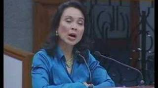 Loren Legarda - An Agenda for Climate Change Adaptation Pt 1