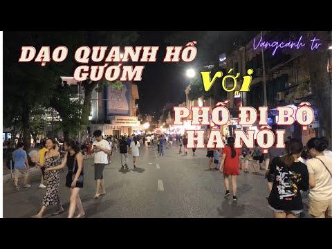 Ghé xem Phố đi bộ,Hồ Gươm ở  Hà Nội,p2  | VÃNG CẢNH TV