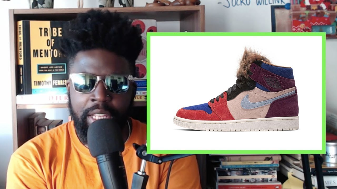 dbfac26ff44 Aleali May x Nike Air Jordan 1 Viotech - YouTube