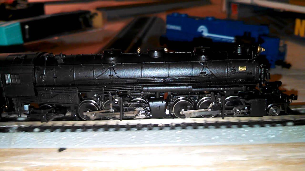 N Scale 1160 2662 Mallet Bachmann Locomotive  Youtube