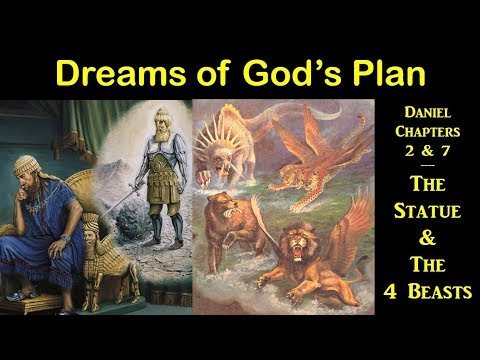 DREAMS OF GOD'S PLAN - The Statue And The Four Beasts (Apocalypse #14)
