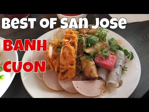 Eating BANH CUON in San Jose (Tay Ho Restaurant) 2018