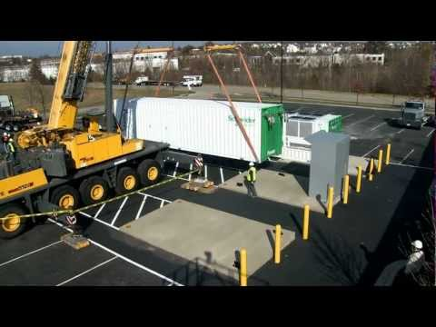 Missouri Crane, Inc. & Scheinder Electric Install Data Centers
