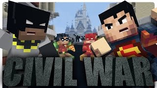 Civil War: Batman vs Superman! (Minecraft Roleplay)
