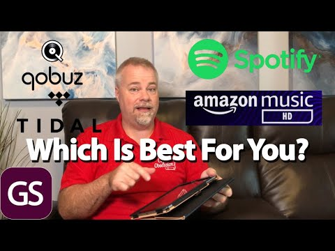 Which Music Service Is Best For You Amazon Music HD Spotify Tidal Qobuz Compared