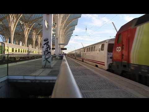 Sud Expresso 311 Lisbon to Hendaye at Lisboa Oriente