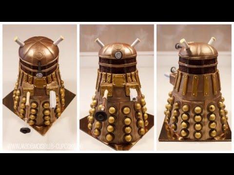 Doctor Who Dalek Torte Motivtorte Making Of Anleitung Youtube