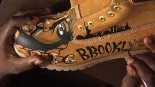 Custom Timberland Boots The Notorious B.I.G. Biggie Smalls
