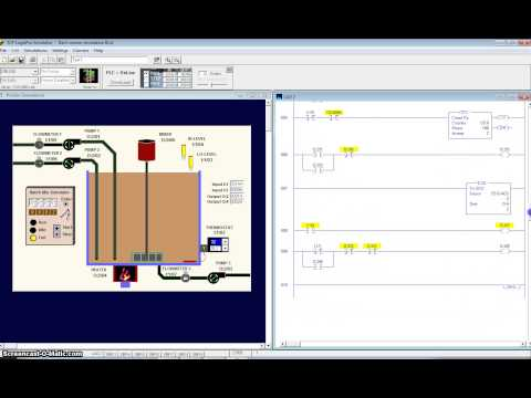 Logixpro Traffic Light Ladder Diagram 12 Volt Solenoid Wiring Clp - Misturador Automático Linguagem (batch Simulator) | Funnycat.tv