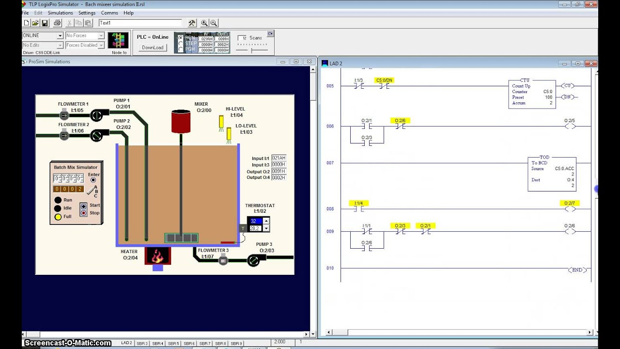 logixpro 500 plc simulator
