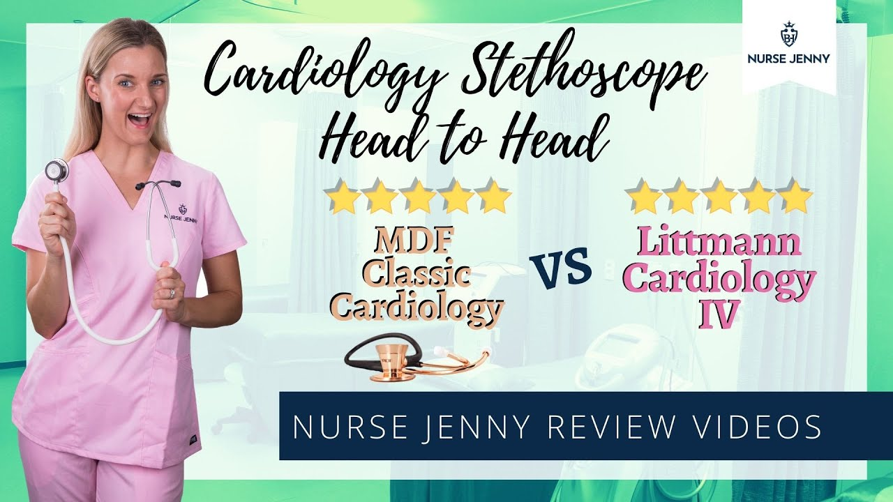 MDF Classic Cardiology Stethoscope Vs Littmann Cardiology IV Stethoscope #cardiology