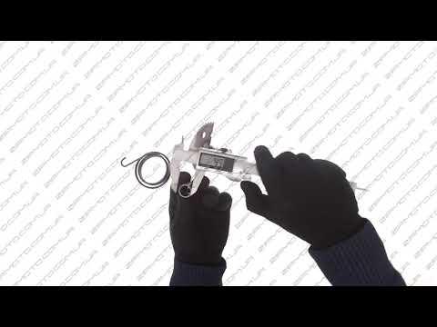 Сектор заводной (полумесяц)   Honda DIO   (+пружина, втулка...