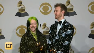 Billie Eilish & Finneas After Winning Record Of The Year | Grammys 2020 Full Backstage Interview