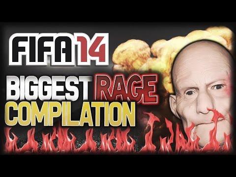 FIFA 14 BIGGEST RAGES COMPILATION - DEREKRANTSGAMING