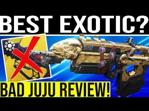 Destiny 2  Bad Juju Exotic Review  BEST PULSE IN THE GAME? New Training  Grounds Secrets & More!