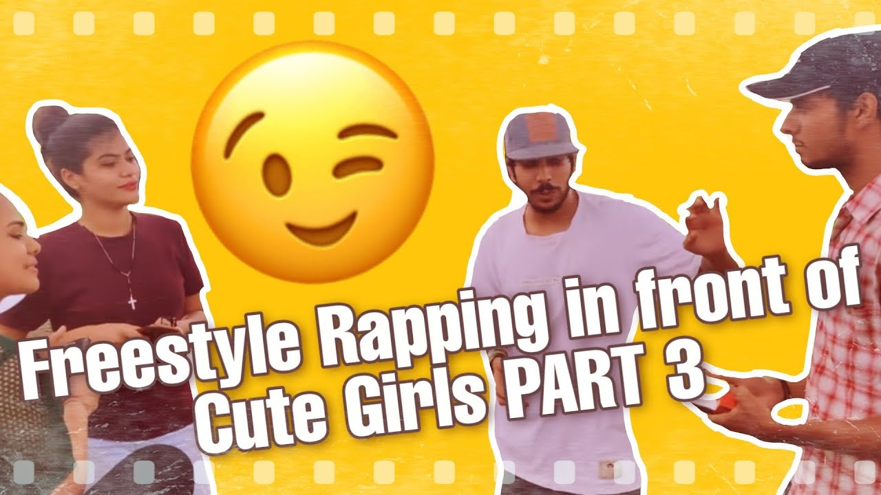 Freestyle Rapping in front of Cute Girls PART 3 WARM UP 😋 (INDORE)