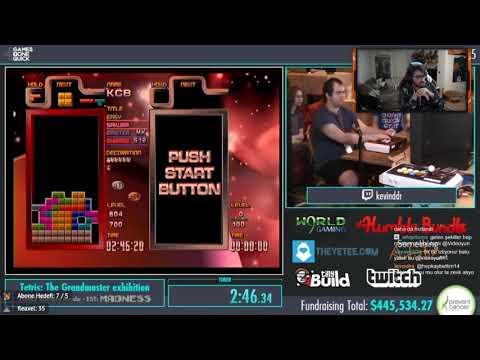 Videoyun - Tetris Speedrun İzliyor