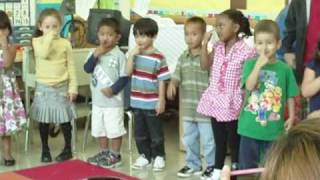 "Eric Kyle  ""Tony Chestnut  (Toe Knee Chest Nut)""  song Pre-K Camp Graduation, August 6, 2009"