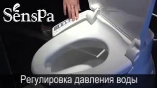 Крышки-биде Senspa JK-800W и JK-900W (обзор функций)(, 2014-10-30T20:03:40.000Z)