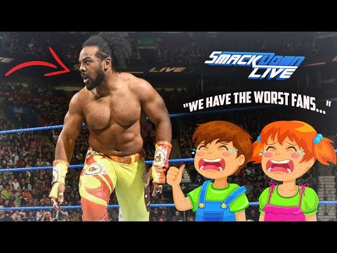 BREAKING: Xavier Woods † Horrible Comments On Why WWE Fans Are THE WORST FANS EVER - WWE Smackdown