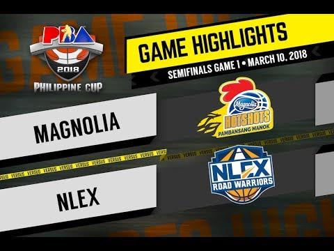PBA Philippine Cup 2018 Highlights: NLEX vs Magnolia Mar. 10, 2018