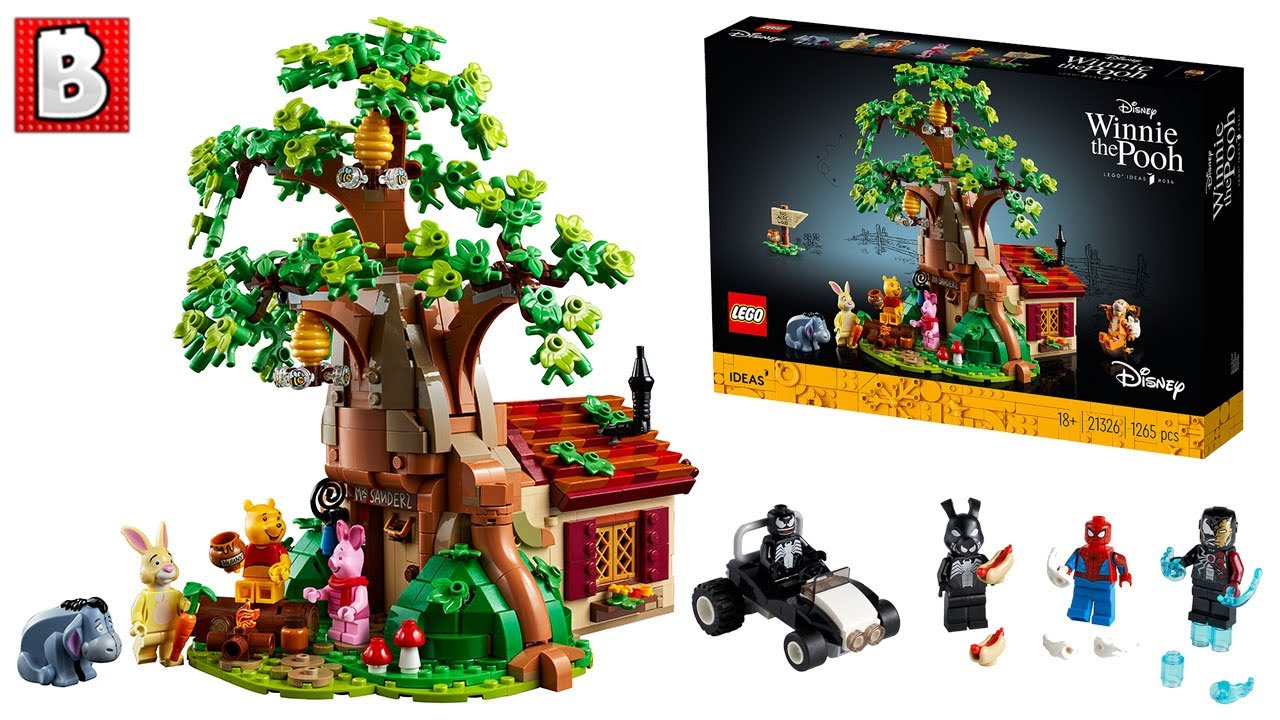 LEGO Winnie The Pooh & Spiderman Battle Pack (kinda) Revealed! | LEGO News