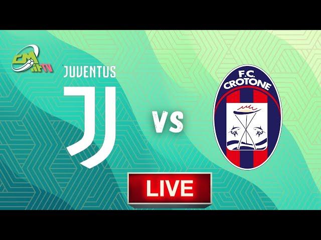 Juventus-Crotone LIVE! Cronaca in DIRETTA Serie A [NO Streaming]
