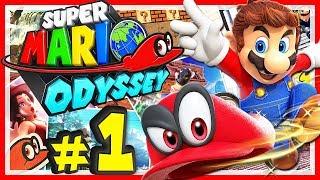 SUPER MARIO ODYSSEY # 01 🎩 Jump Up, Super Star! [HD60] Let's Play Super Mario Odyssey
