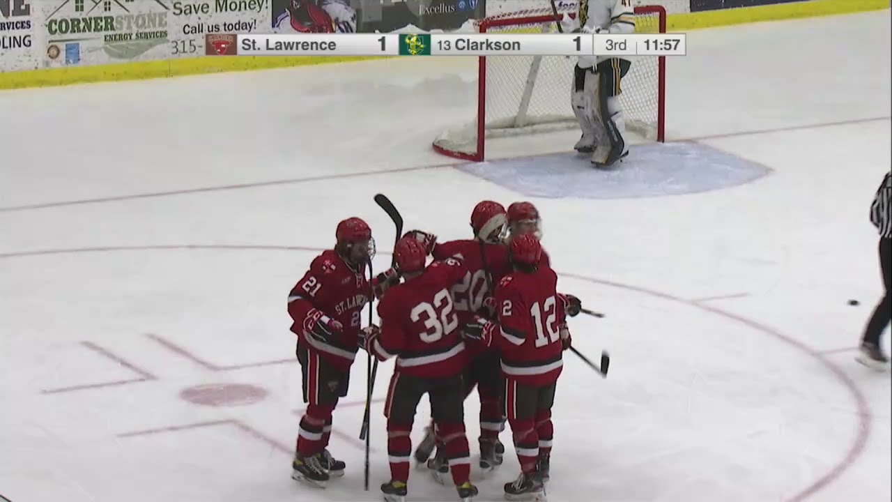 St. Lawrence 2, Clarkson 1 - OT (men's hockey)