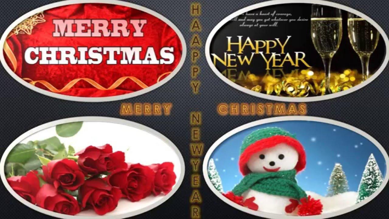 Merry Christmas Wishes Happy New Year Greetings Whatsapp Video