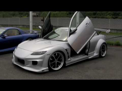Veilside Widebody Rx 8 Mazdas247 Youtube