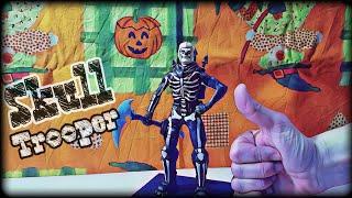 Figurine Fortnite - Skull Trooper - Halloween Skin - Polymer Clay (Sculpting Figure)