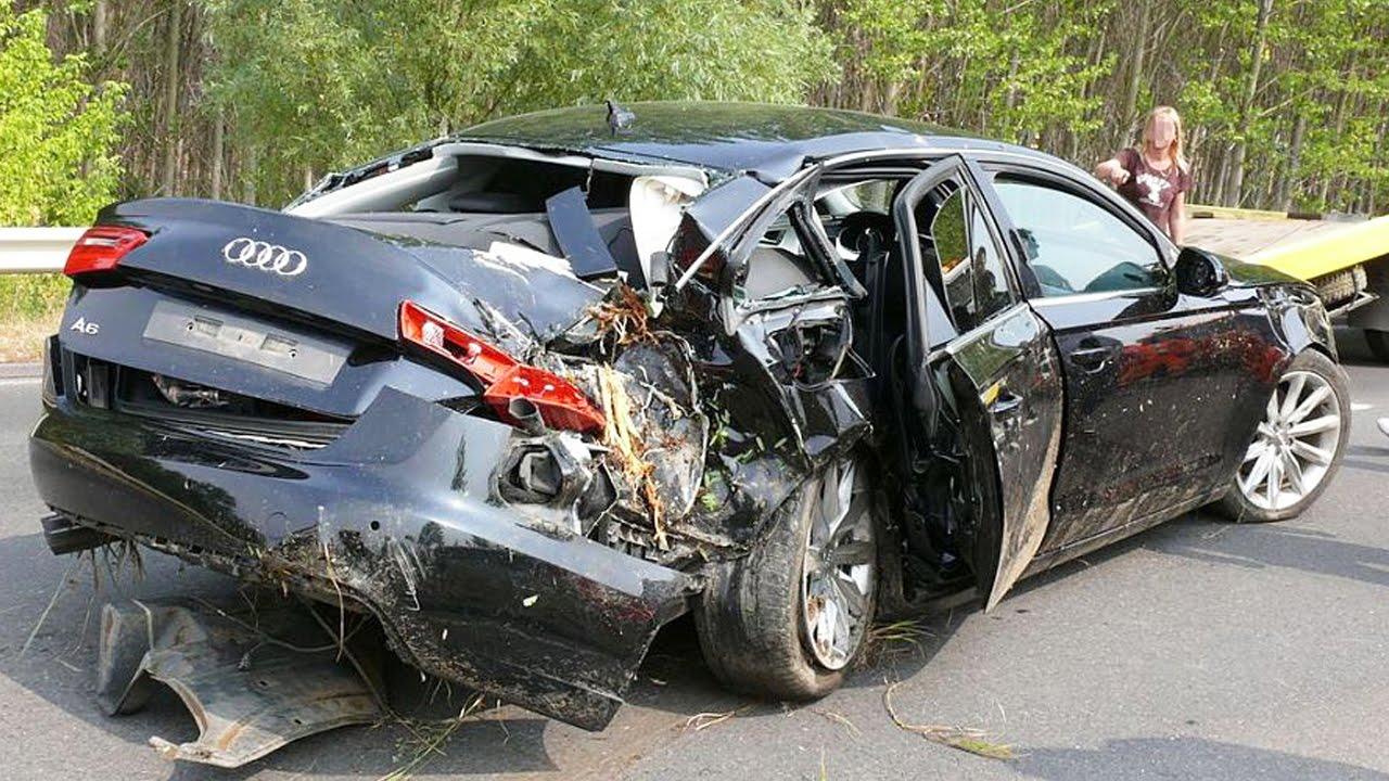 Latest Car Accident Of Audi A6 Road Crash
