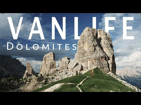 Vanlife Vlog: Wondering With Our VW Wesfalia T4 on the Dolomites