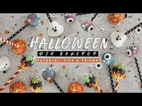 How To Make Halloween Cake Pops | Easy Cake Pop Tutorial
