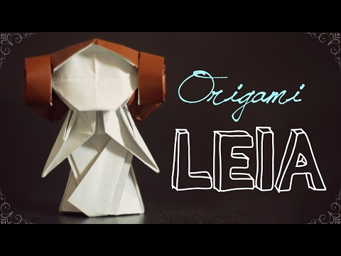 How to make an origami Leia (Tadashi Mori)