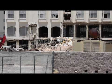 The Riviera hotel and casino is getting torn down.