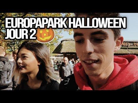2ème journée à Europapark pour Halloween !