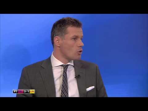 Jamie Carragher criticising Liverpool