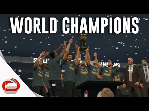 SAN ANTONIO SPURS - NBA CHAMPIONS - NBA 2K17