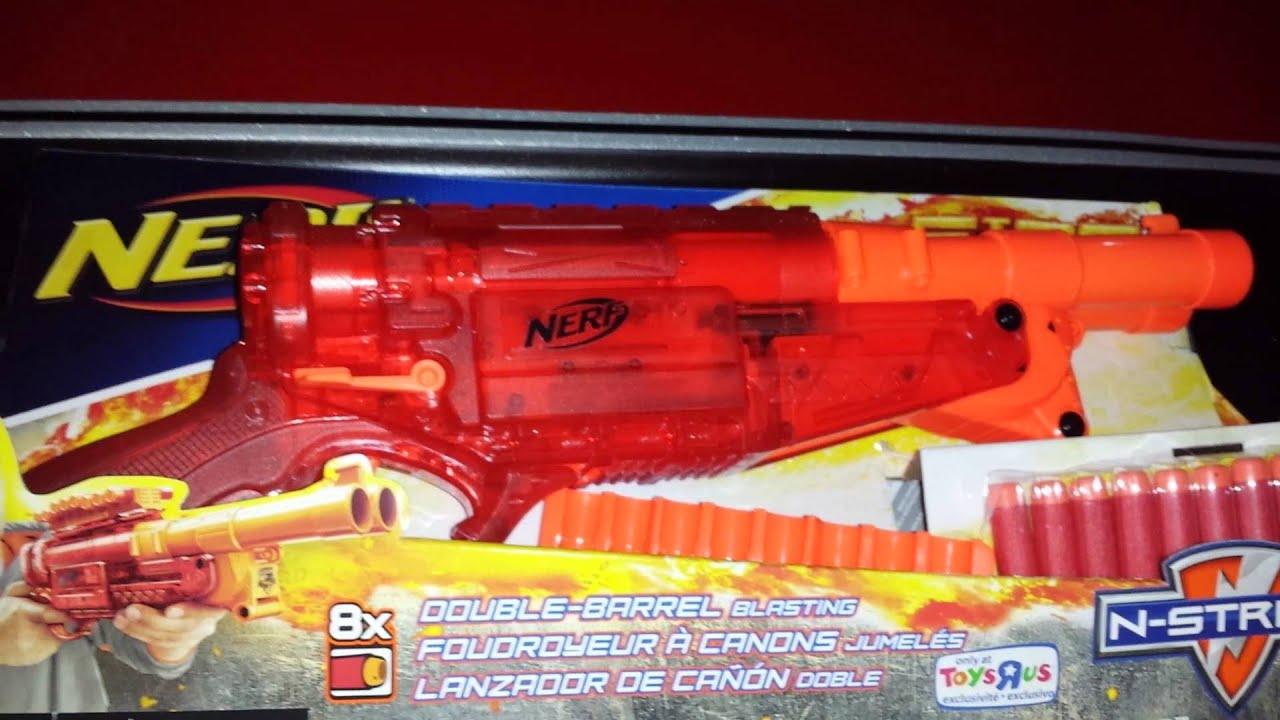 NEW NERF SONIC FIRE BARREL BREAK IX-2 RED! - YouTube