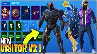 *New* Fortnite Season 10 *ALL* leaked Skins & Emotes (Visitor 2, Starlie ,RAGE QUIT, Dreamer…)