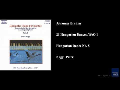 Johannes Brahms, 21 Hungarian Dances, WoO 1, Hungarian Dance No. 5